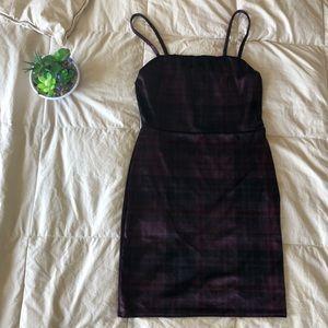 NWOT-Nasty Gal Velvet Dress